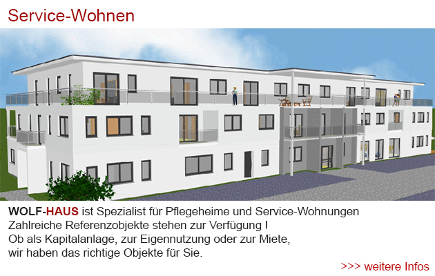 service-wohnen, betreutes wohnen, altenheim, seniorenzentrum, tagespflege, wol-haus